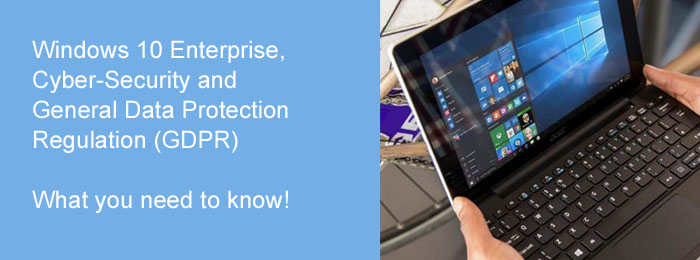 Does your business process sensitive data, operate in a regulated industry, or develop software in-house? If so, you must get the increased security, controls and IT support that you need with Windows 10 Enterprise E3. Delivered as a cloud service and managed by Encom