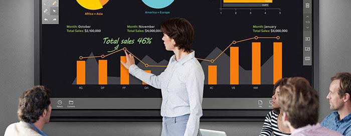 The Samsung SMART Signage DME-BR Series is ready-to-use, all-in-one E-board display for corporate and educational organizations.
